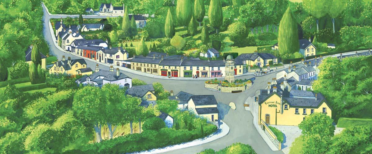 Enniskerry Wicklow Uplands